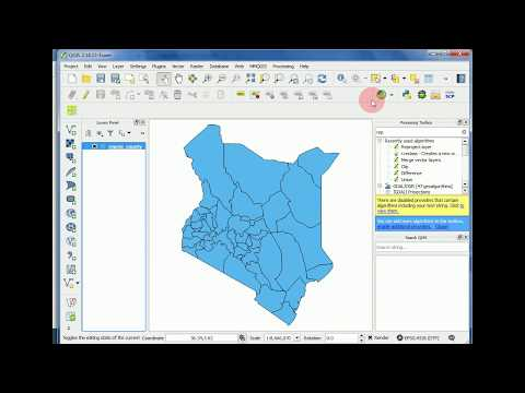 Calculating area of polygon shapefile in QGIS