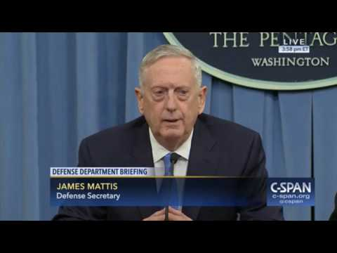 Mattis: If Syria Uses Chemical Weapons, They Will Pay a High Price