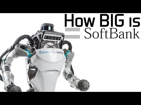 How BIG is SoftBank? (They Own Boston Dynamics & 99% of Smartphone Chips)