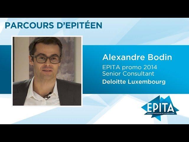 Parcours d'Epitéen - Alexandre Bodin (EPITA promo 2014) - Deloitte Luxembourg