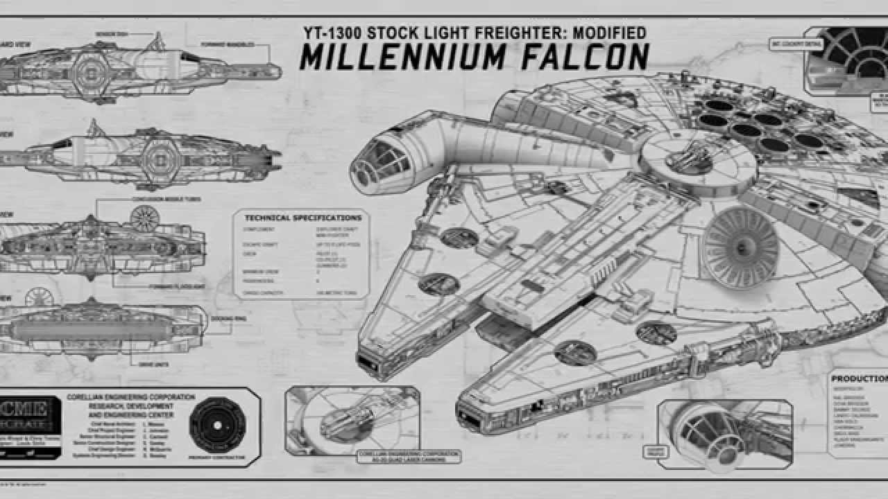 force awakens new star wars movie millennium falcon. Black Bedroom Furniture Sets. Home Design Ideas