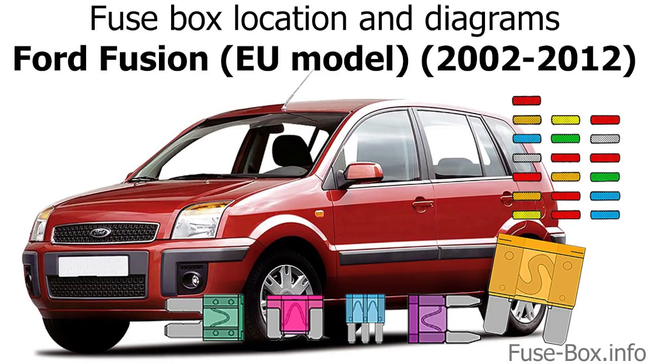 Fuse box location and diagrams: Ford Fusion (EU model) (2002-2012) - YouTubeYouTube