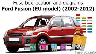 2008 ford fusion fuse box location fuse box location and diagrams ford fusion  eu model   2002 2012  fuse box location and diagrams ford