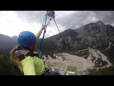 Maruša Ferk - GoPro, Zipline Planica