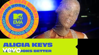 Alicia Keys - Love Looks Better (MTV EMA 2020) YouTube Videos