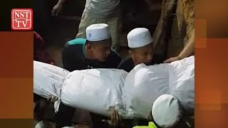 Tok Bali drowning: Family of four buried in single grave