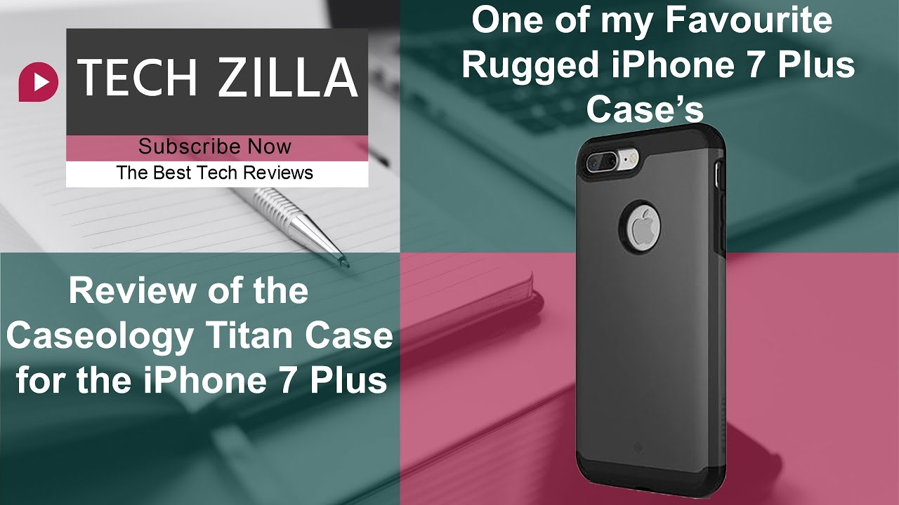 newest 4a780 9d405 Caseology Titan Heavy Duty Case for the iPhone 7 Plus Review - The Best  iPhone 7 Plus Rugged Case