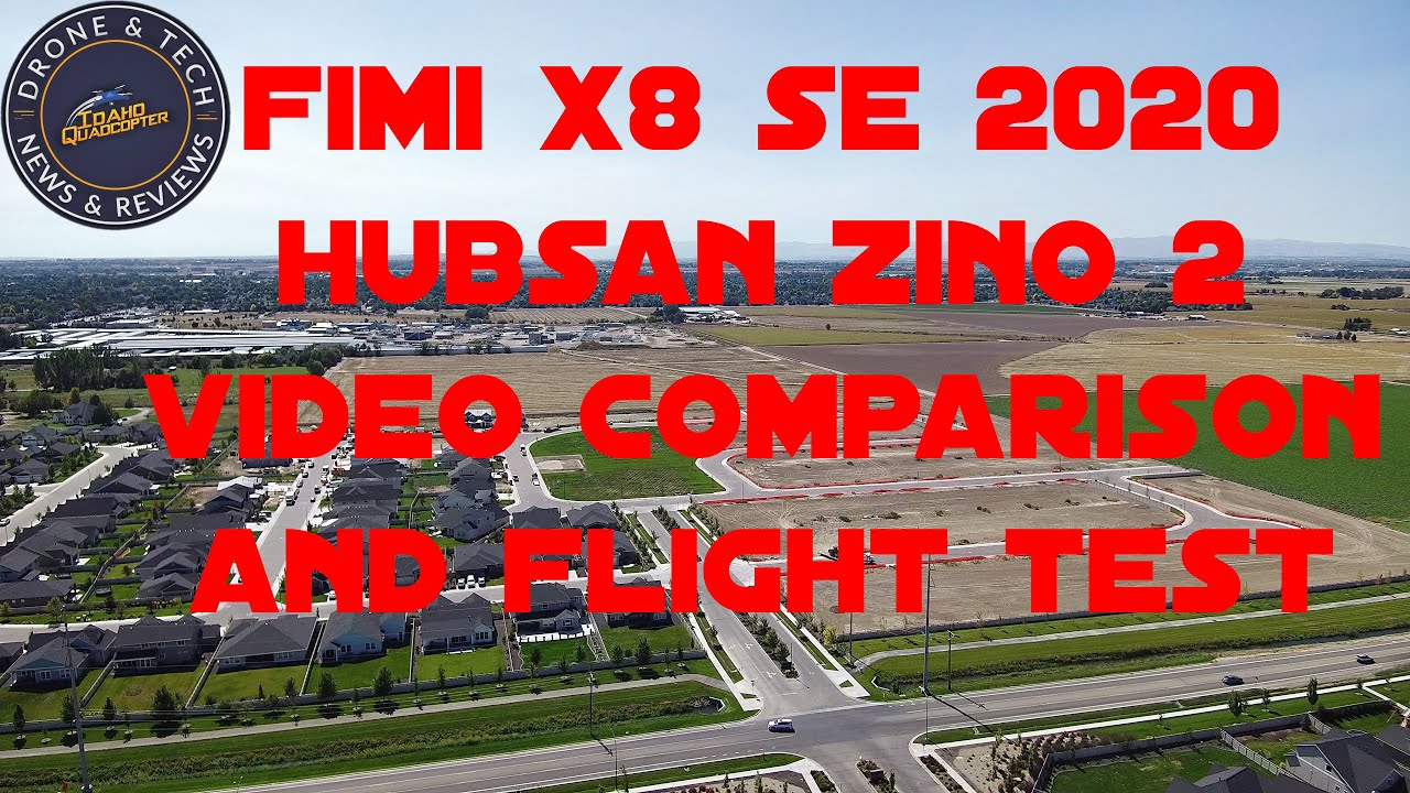 Fimi X8 SE 2020 and Hubsan Zino 2 Video Comparison at Heroes Park
