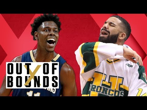 Drake NBA's Most Annoying Fan?; Jrue Holiday Takes Over; Harden's Step-Back | Out of Bounds