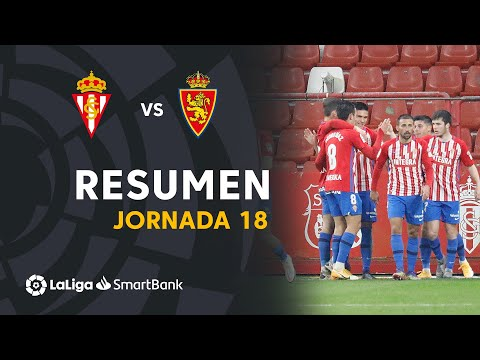 Gijon Zaragoza Goals And Highlights