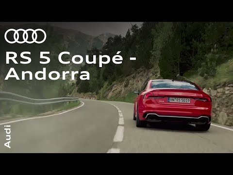 The new Audi RS 5 Coupé in Andorra