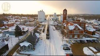 Norfolk Southern Freight Train (Drone Video)