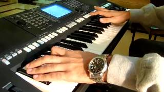 Whitney Houston - I Will Always love You - Yamaha PSR S750