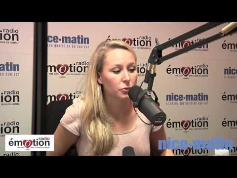 Marion Maréchal Le Pen invitée de Radio Emotion et Nice-Matin