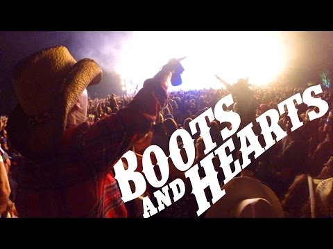 Boots and Hearts Country Music Festival GoPro After Movie!