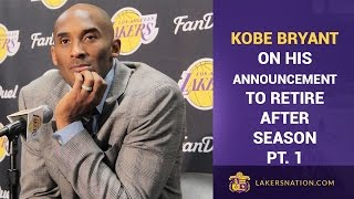 Kobe Bryant On Retirement: