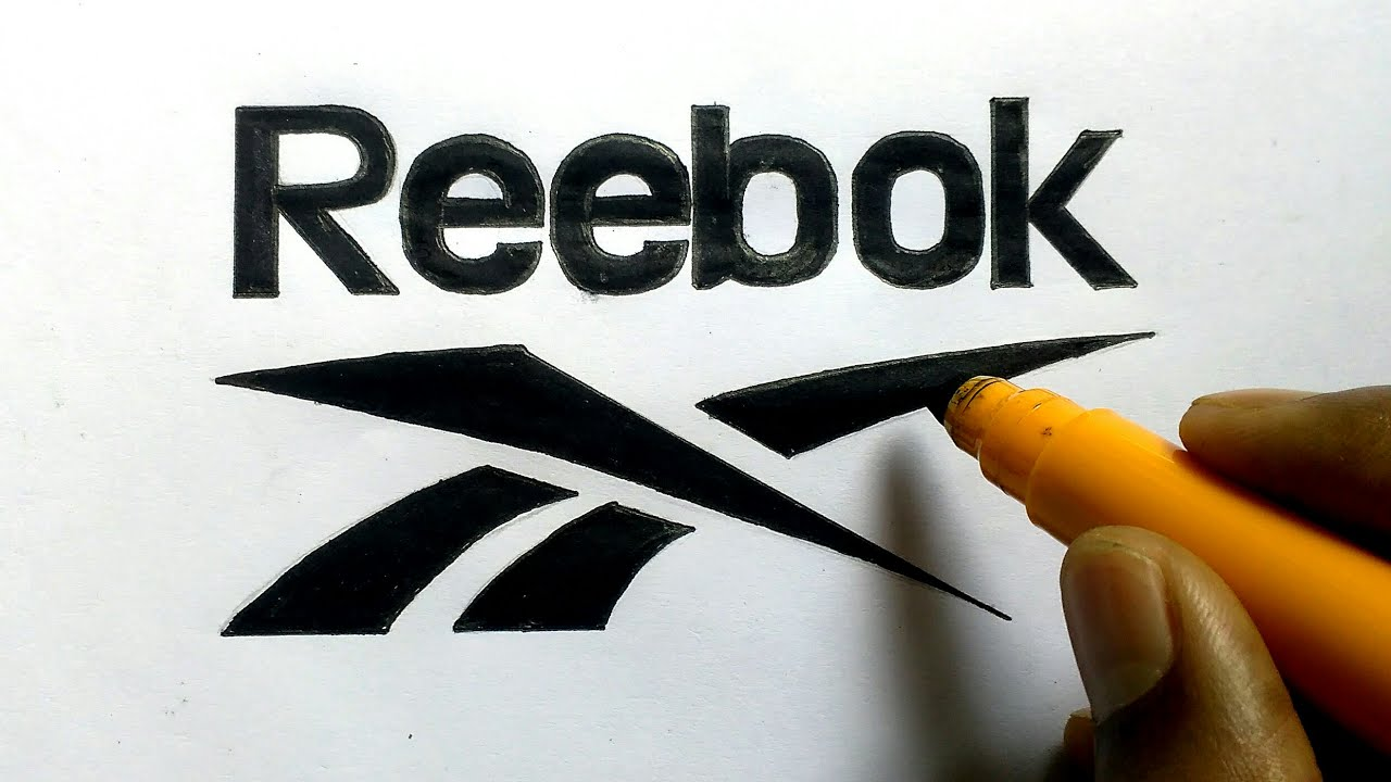 How to draw the reebok logo step by step very easily logo drawing how to draw the reebok logo step by step very easily logo drawing 04 buycottarizona Image collections