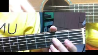 How to play 10,000 Reasons Fingerstyle