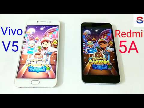 Xiaomi Redmi 5A vs Vivo V5 Speed Test!