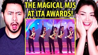 THE MAGICAL MJ5 PERFORMING AT THE ITA AWARDS | Reaction by Jaby & Alazay!
