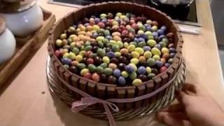 Die Sünde - Kitkat / M&m Torte