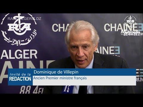 Dominique de Villepin ancien Premier ministre français