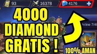 Cara Mendapatkan Diamond GRATIS Di Mobile Legend ! 100% WORK ! | Mobile Legend Trick #1