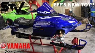 JEFF'S NEW TOY!