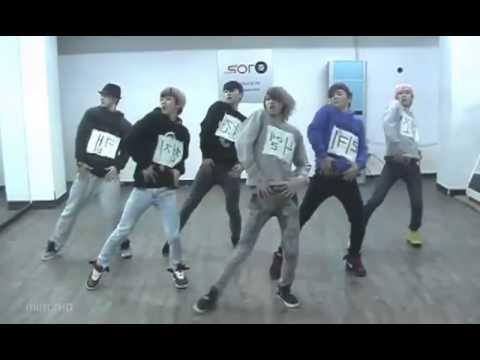 Teen Top - Supa Luv mirrored Dance Practice