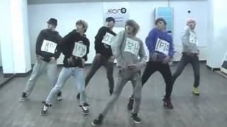 Teen Top Supa Luv Mirrored Dance Practice