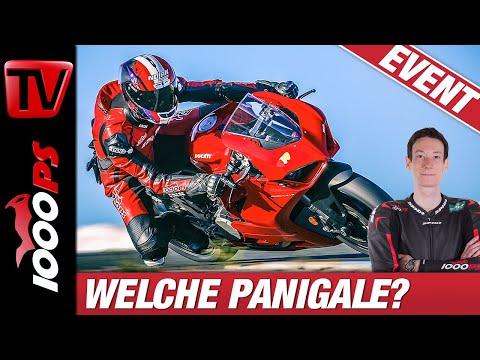 Welche Ducati Panigale ist die Richtige für Dich? V2, V4S und V4R im Vergleich