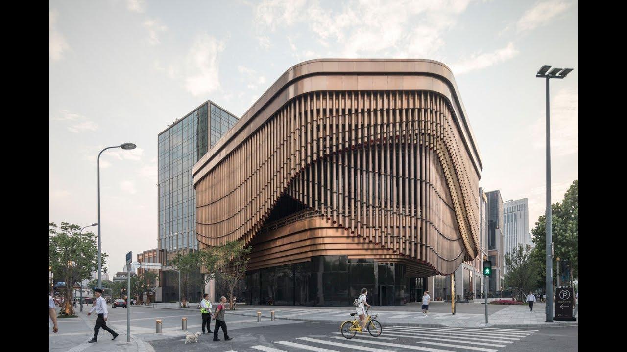 Bamboo Facade Architecture Building