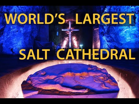 WORLD'S LARGEST UNDERGROUND CATHEDRAL | Colombia Travel Guide