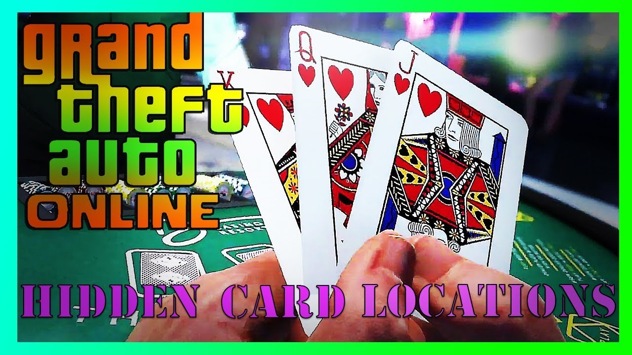 Gta 5 Online All Hidden Playing Card Locations L Diamond Casino Dlc Poker Card Location 1 10