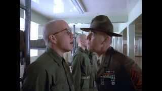 Full Metal Jacket (1987) - Opening barracks scene