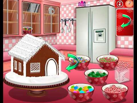 How To Play Gingerbread House Sara S Cooking Class Video
