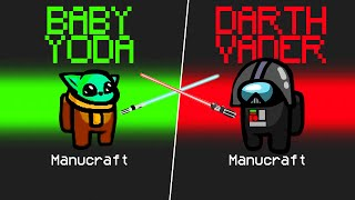 👶 *NUEVO* MOD BABY YODA 🆚 DARTH VADER EN AMONG US 👤 Star Wars Mod