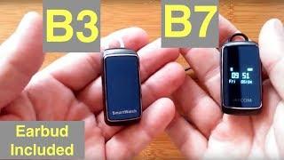 jakcom B3 Sunsui B7 Combo Smart Bracelets / Earphones for Phone Calls & Music: One Minute Overview