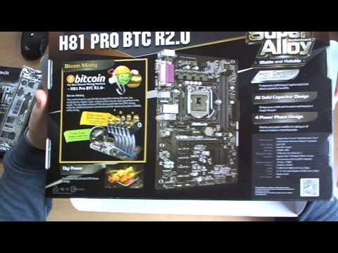 H-UNboxing (Magyar) Ξ Asrock H81 PRO BTC R2.0 + Intel I3-4170