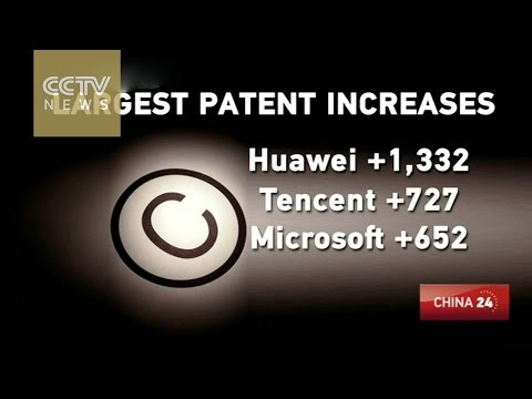 China's telecom giants Huawei, ZTE among top patent applicants in 2014