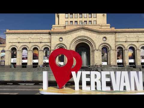 Yerevan Panorama @ Republic Square