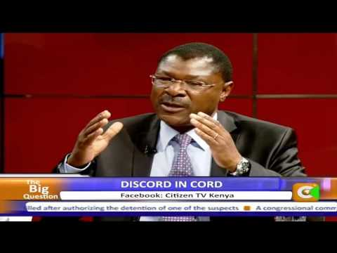 Big Question interview with Moses Wetangula