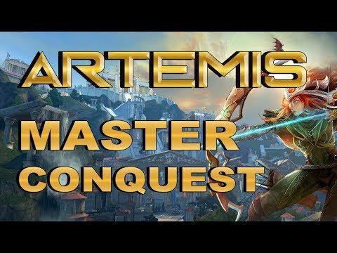 SMITE! Artemis, Yo solo queria dar criticos :(! Master Conquest S4 #81