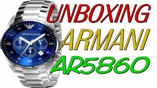 Unboxing Relógio Empório Armani AR5860 FReplica Aliexpress (PT-BR) HD