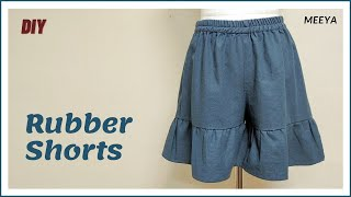 DIY Rubber Shorts+how to  make…