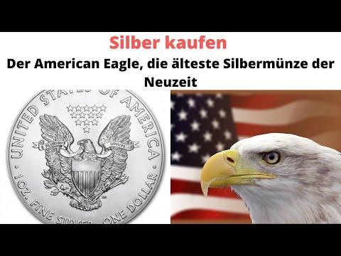 Silber Kaufen Der American Eagle Die älteste Silbermünze Der