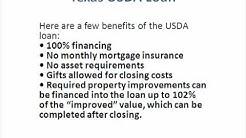 Texas USDA Loan