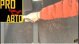 видео Чехлы на сидения NISSAN SUNNY