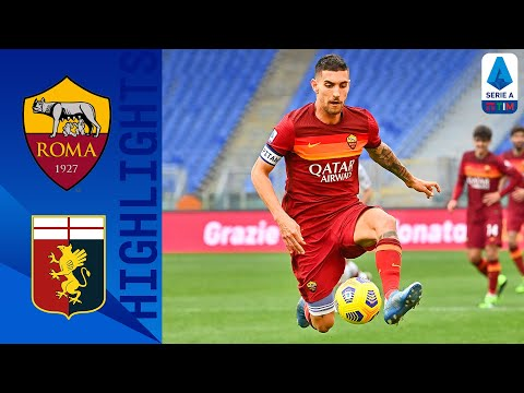 AS Roma Genoa Goals And Highlights