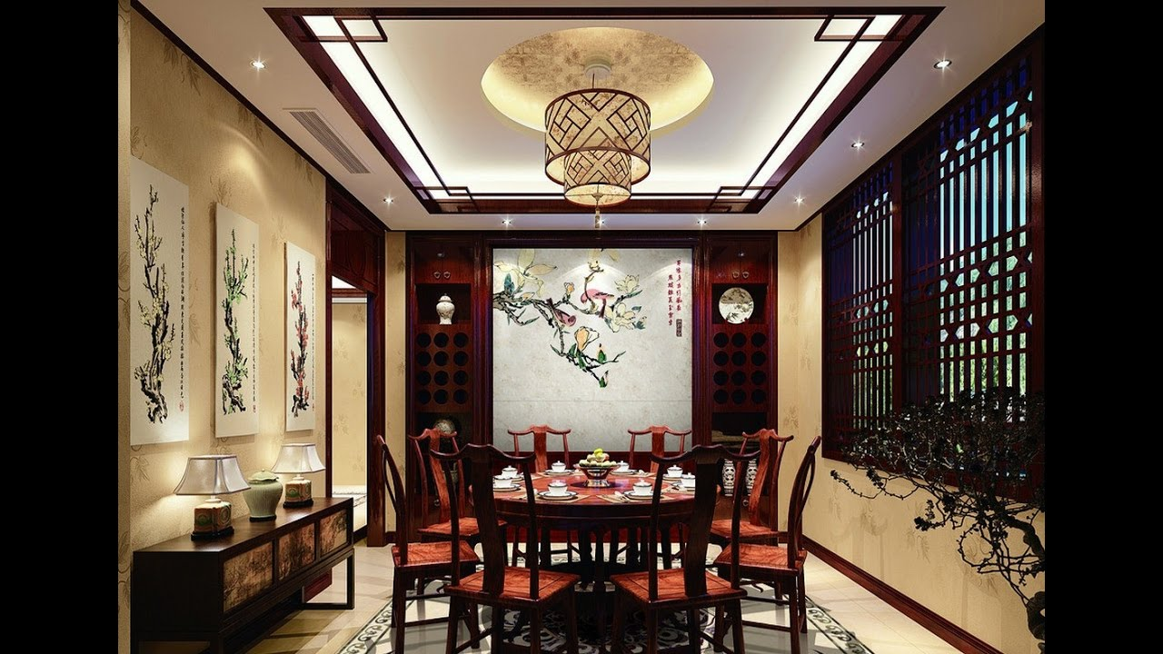 Unique false ceiling types false ceiling designs for hall for Simple dining hall design